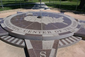 The Geographic Center of the U. S.