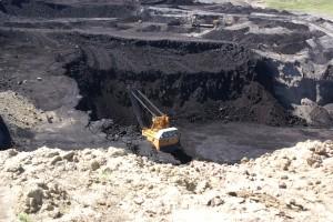 Coal shovel, Eagle Butte Coal Mine