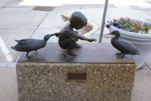 One of our favorite statues in downtown Gillette, WY