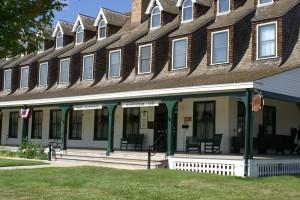 The historic Sheridan Inn.
