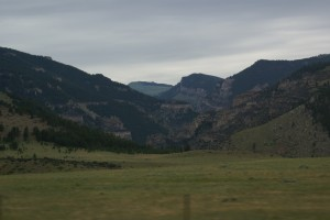 Coming into the Bighorn Mountains on US-14