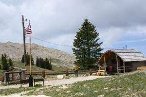 USFS station at the Medicine Wheel.