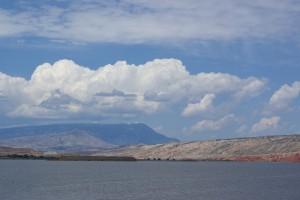 Bighorn Rec Area Reservoir.