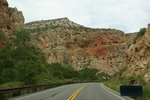 Heading into Shell Canyon.