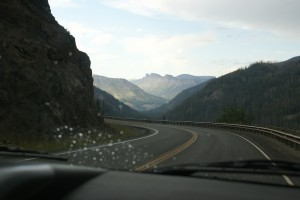 Headed back to Wapiti on the Buffalo Bill Cody Scenic Byway.
