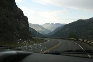 Headed back to Wapiti on the Buffalo Bill Cody Scenic Byway.