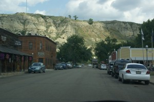Just down the street from the entrance to TRNP SU in Medora MT.