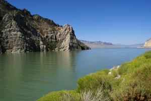 Buffalo Bill Reservoir (Shoshone River).