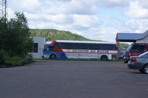 One of the outside buses…This must be the place!