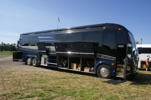 Coach Quarters (Mike Middaugh) Prevost H3-45 Marathon Executive Coach.