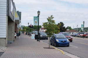 Main Street, St. Ignace, MI.