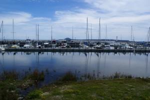 The St. Ignace public marina.