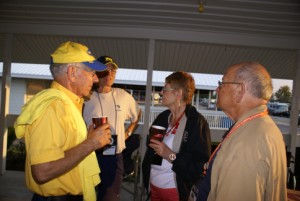 L-2-R: Larry Baker, Ron Walker, Judy Czarsty (FMCA past national president) and her husband.