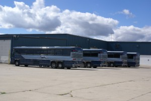 The ABC Bus Nappanee Greyhound operation.