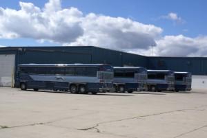 The ABC Bus Nappanee Greyhound operation.