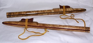 Native American Flutes handcrafted by Ron Lott.
