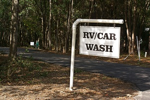 The RV/Car Wash station.