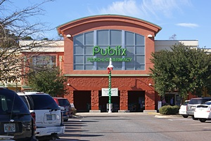 Publix grocery store in SW Gainesville, FL.