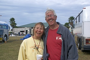 Paula and Jack Conrad, Bussin' Rally founders.