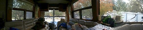 The View From Our Coach on Site 439 at WCRVR.