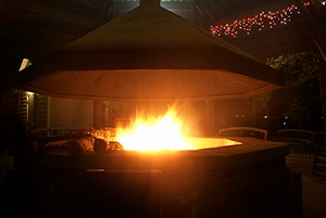The fire pit at WCRVR.