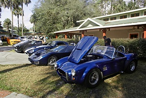 Ford car show at SSSP (FL).