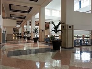 TCC West Hall lobby.
