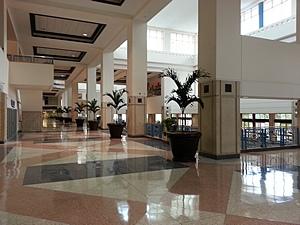 TCC West Hall lobby.