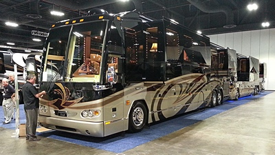 A pair of late model, lightly used, Prevost H3-45 conversions.