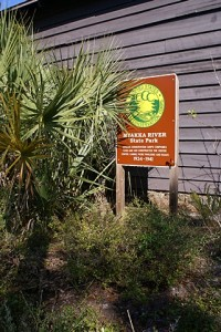 Myakka SP Visitor Center.