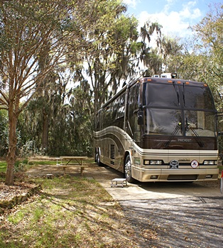Our bus on site 439, at WC RV Resort.