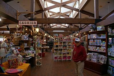 The Turkeyville General Store (gift shop).