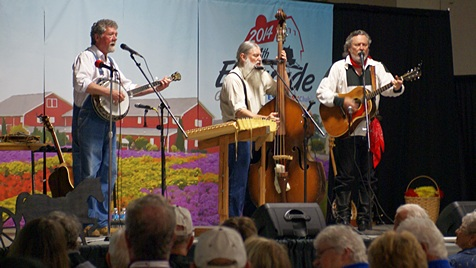 The Homestead PIckers in concert.