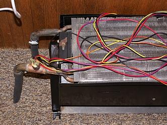 fan-coil heat exchanger