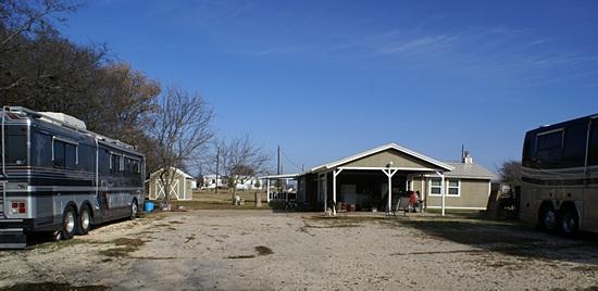 Donn Barnes' place in Alvarado, Texas.  Yee Haw!