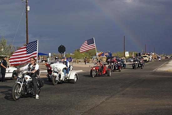 The Hi Jolly Daze Parade.  Quartzsite, AZ