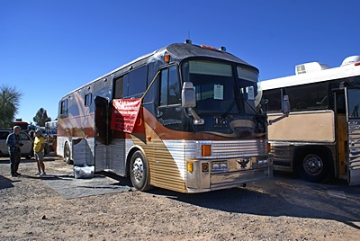 Gary Hatt, publisher of Bs Conversion Magazine, recently acquired this Eagle bus conversion.