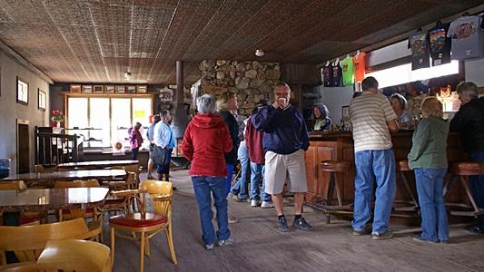 The Nellie E. Saloon at The Desert Bar outside Parker, AZ.