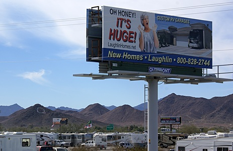 Quartzsite is a place with a sense of humor.  Central Ave I-10 overpass.