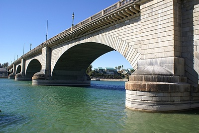 London Bridge in Lake Havasu City (LHC), AZ.