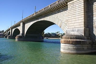 London Bridge in Lake Havasu City (LHC), AZ.