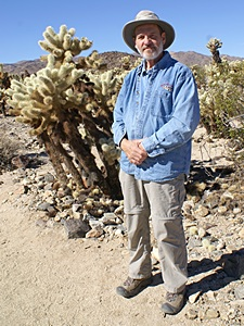 Bruce in the Cholla Garden, JTNP, CA.