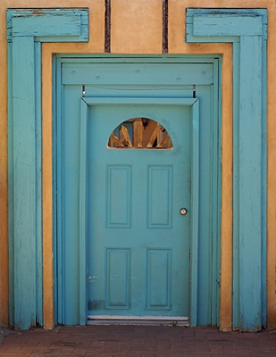 One of the many very old doors in Old Town Albuquerque, NM.  I think doors make interesting subjects for photographs.