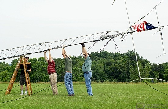 "Field Day is an ""all hands on deck (antenna)"" event for our SLAARC group."