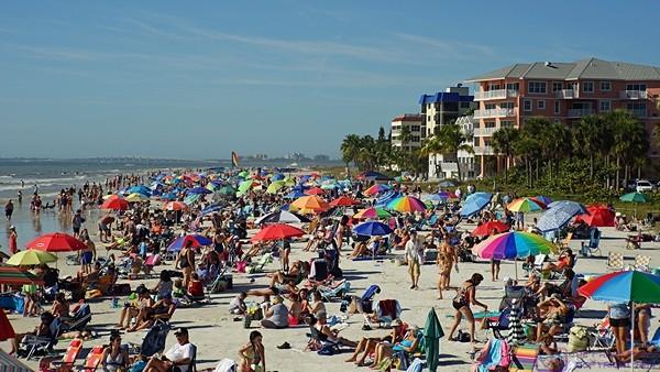 The Beach at Ft. Myers Beach, FL.