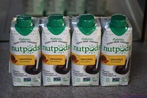 The shelf-stable Nutpods non-dairy coffee creamer that we ordered online.  We had high hopes for this product based on the reviews, but it disappointed us.